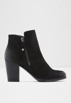 ALDO - Naedia leather boot - black