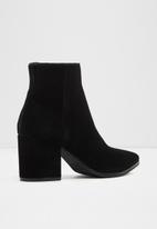 ALDO - Fralissi suede boot - black