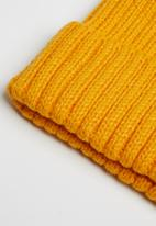 Superbalist - Andrew ribbed beanie - yellow