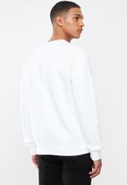 Nike - Nsw club crew sweatshirt - white & black