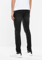 S.P.C.C. - Ebony signature feather jeans - black