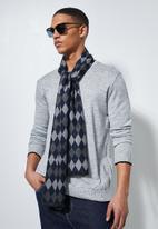 Superbalist - Rey scarf - navy & grey