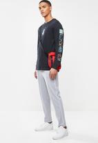 Nike - Dry air savag long sleeve tee - black