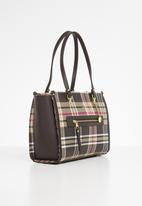 POLO - Barclay tote - brown & beige