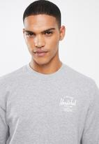 Herschel Supply Co. - Classic logo sweater - heather grey