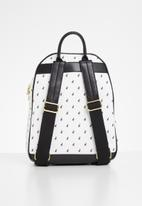 POLO - Kensington backpack - black & white