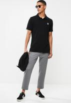 adidas Originals - Pique polo - black