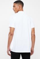 adidas Originals - Pique polo - white