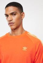 adidas Originals - Blc 3-stripes long sleeve tee - orange