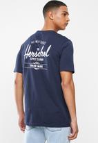 Herschel Supply Co. - Classic logo tee - navy