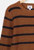 Free by Cotton On - Drake knit crew  - multi