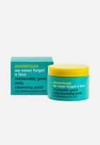 anatomicals - We Never Forget a Face Memorably Good Daily Cleansing Pads