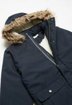 name it - Moa parka jacket pb - navy