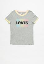Levi's® - Lvg rainbow ringer top - grey
