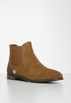 POLO - Chelsea suede boot - tan