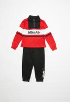 Nike - Nkb air hz & jogger set - red