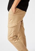 Factorie - Utility pocket pant - beige