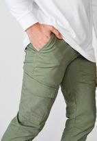 Factorie - Utility pocket pant - khaki