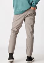 Factorie - Slim tapered leg pant - york check