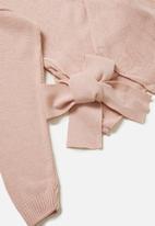 Glamorous - Petite wrap knit - pink