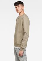 G-Star RAW - Premium core sweater - khaki