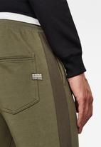 G-Star RAW - Block originals graphic sweatpants - khaki