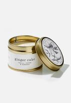 Amanda Jayne - Ginger cake gold travel tin candle