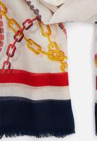 ALDO - Brolga - white & navy