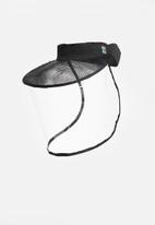 Crystal Birch - Shield visor - black