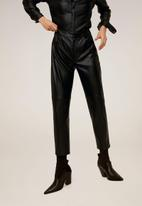 MANGO - Wanted trouser - black