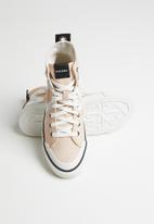 Diesel  - S-astico mc w - sneaker mid - cream/tan/star white