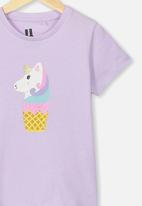Cotton On - Penelope short sleeve tee - purple