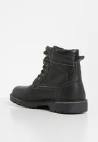 Grasshoppers - Urban boot - black
