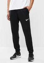 Nike - Dry tapered fleece pants - black