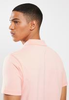 adidas Performance - Short sleeve polo - pink