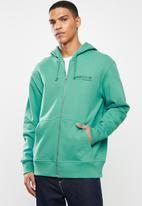 adidas Originals - Fz hoodie - green