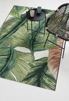 Hertex Fabrics - Aruba woven outdoor rug - greenery