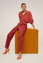 MANGO - Berlina trousers - red