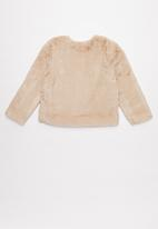 Superbalist Kids - Girls faux fur jacket - neutral