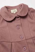 Superbalist Kids - Girls melton jacket - mauve