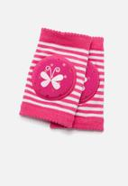 POP CANDY - 2pk Butterfly knee pads - pink