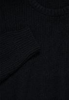 Superbalist - Lofty rib jumper - black