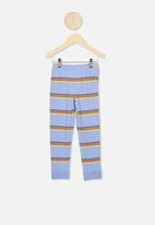 Cotton On - Orlando long sleeve pj set - blue