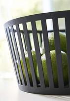 Yamazaki - Tower fruit basket - deep black