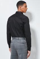 Superbalist - Jos slim fit long sleeve shirt - black