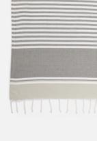 Hertex Fabrics - Balkan hammam towel (90x150) - granite