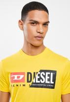 Diesel  - Diego cuty tee - yellow
