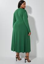 Superbalist - Dolman sleeve maxi - bottle green