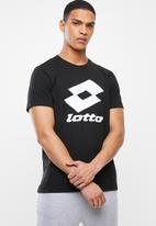 lotto - Lotto smart tee - black