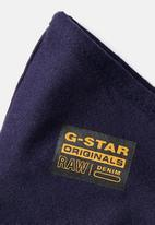 G-Star RAW - Raw face mask 5 pack - navy